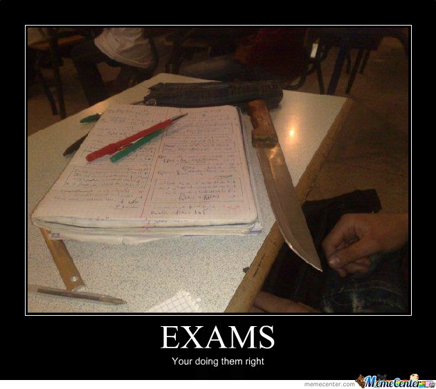 Exams,how they should be...