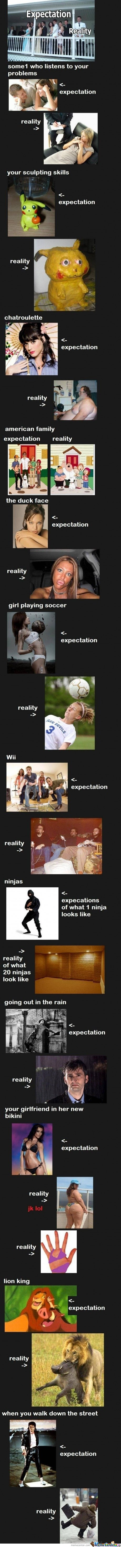 Expectations Vs Reality comp