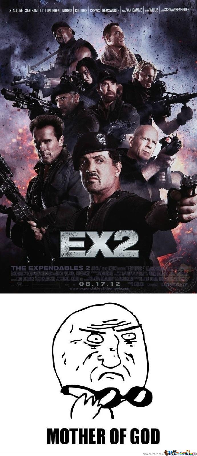 Expendables 2 .. Mother Of God