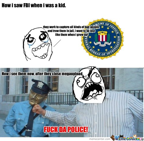 With Fuck the fbi phrase