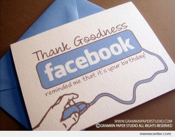 Facebook birthday card by ben meme center facebook birthday card bookmarktalkfo Gallery