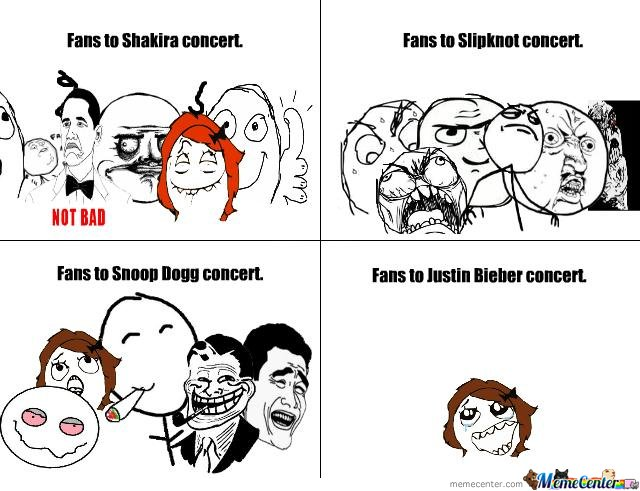 Fans To Concert's