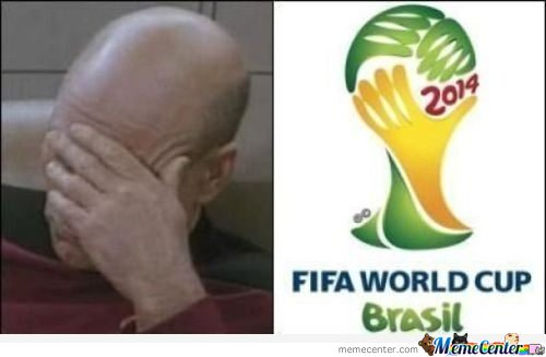 Fifa World Cup 2014 Logo, Can Not Be Unseen