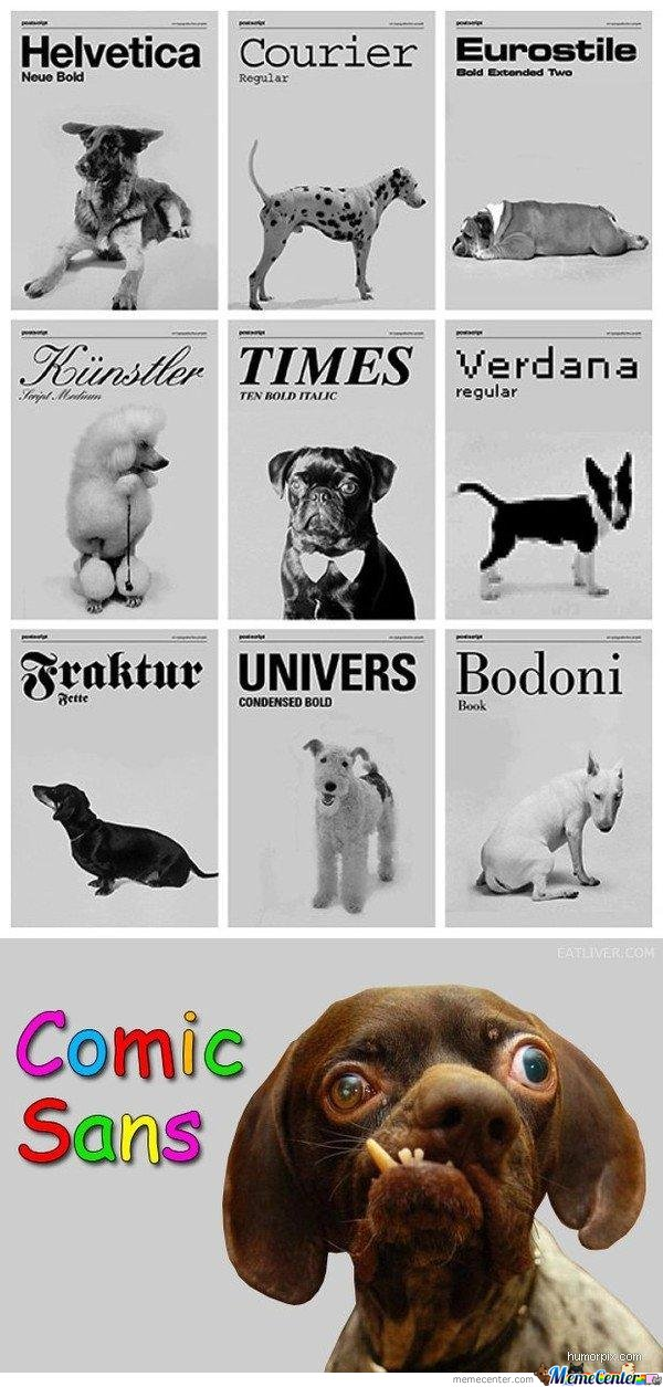 Fonts By Dogs
