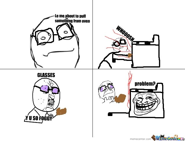 GLASSES Y U SO...