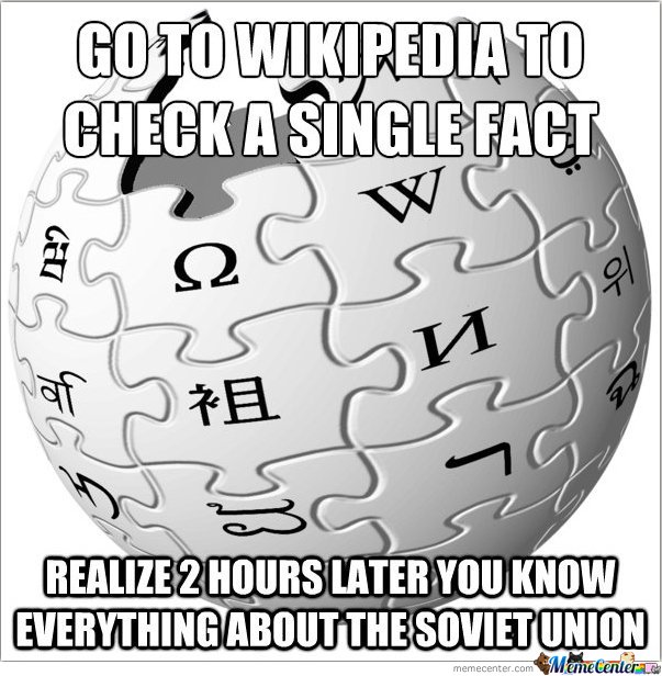GO TO WIKIPEDIA FOR CHECKING A SINGLE FACT