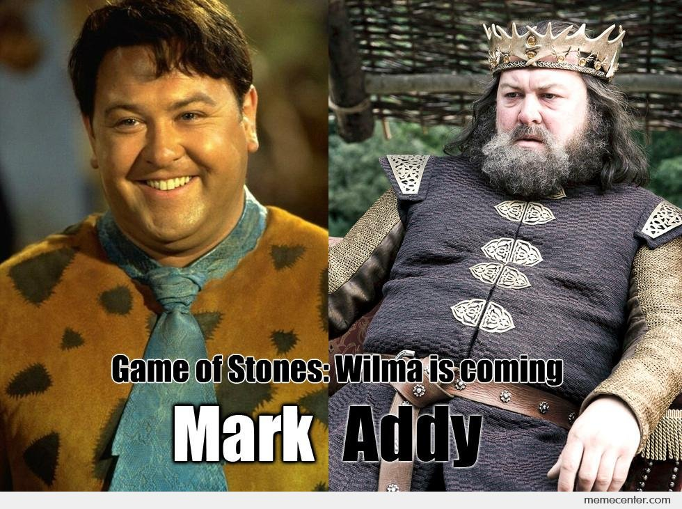Game of Stones: Wilma is coming