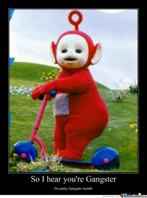 po gangster teletubbies memes best collection of funny po gangster teletubbies pictures