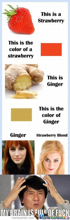 Ginger & Strawberry Blond