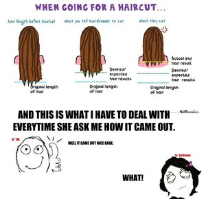 Girlfriend gets her haircut_fb_99709 i need dis by fjie meme center