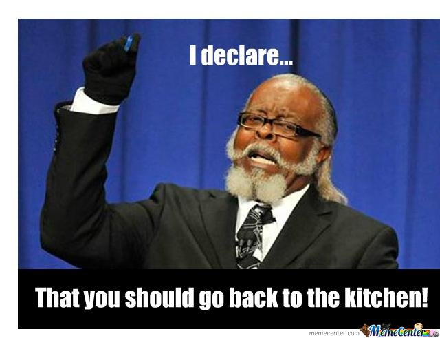 Go To The Kitchen