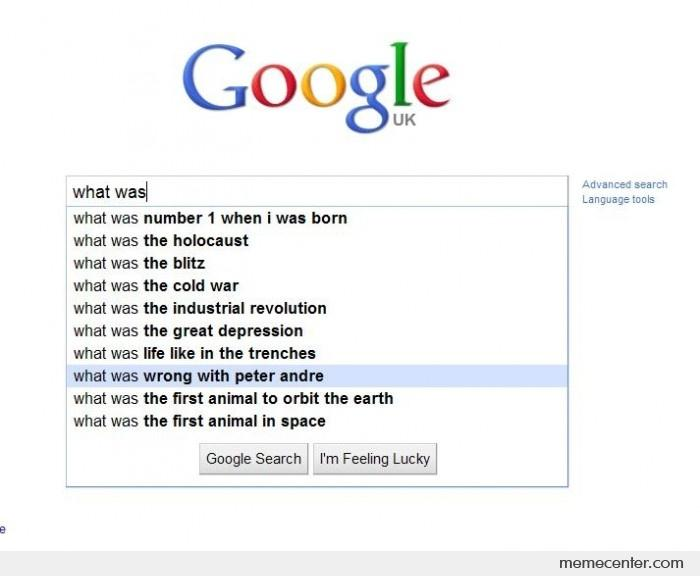 Google autocomplete - So much WRONG! by ben - Meme Center