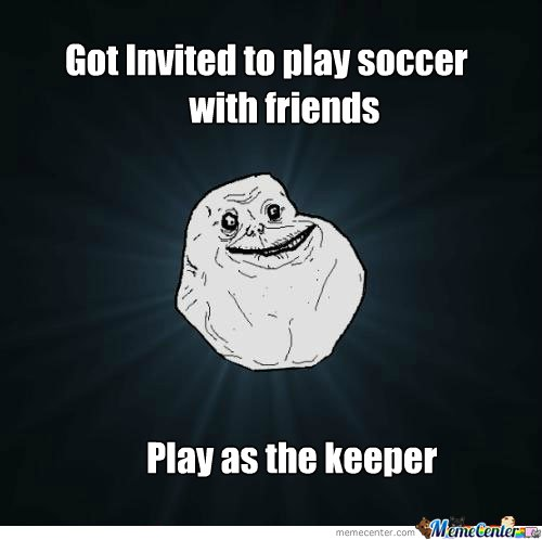 Got invited to play soccer