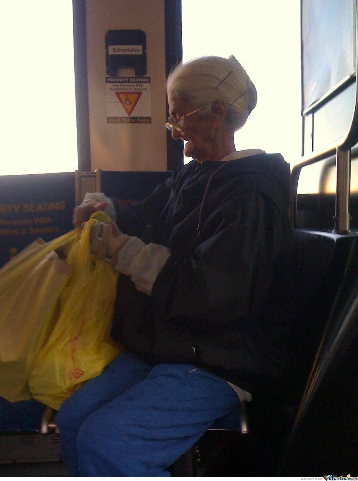 Grandmother from Tweety IRL