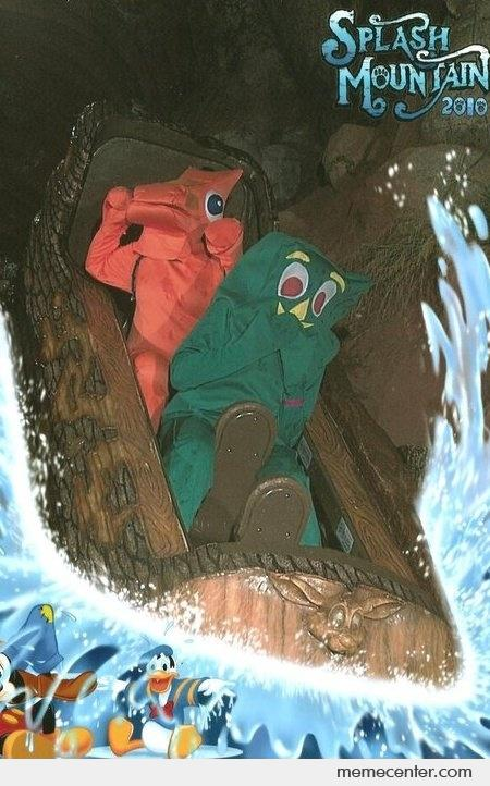 Gumby and Pokey Enjoy a Splash by ben - Meme Center Gumby And Pokey