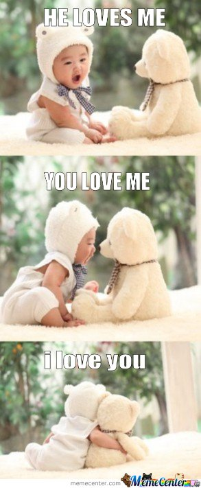 He Loves Me! You Love Me?