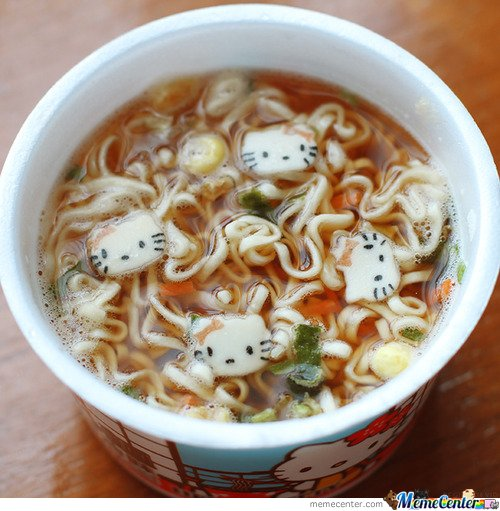 Hello Kitty Soup