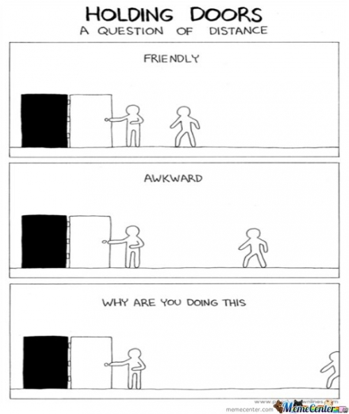 Holding the Door