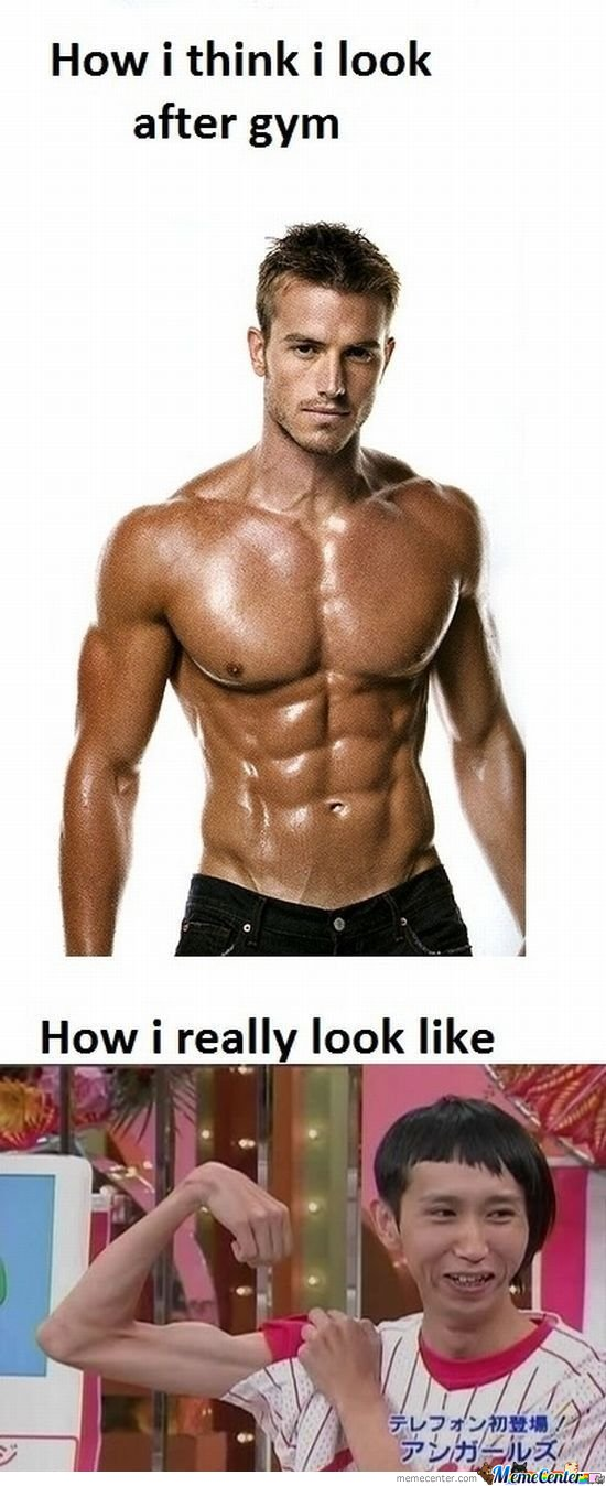 How I Think I Look After Gym