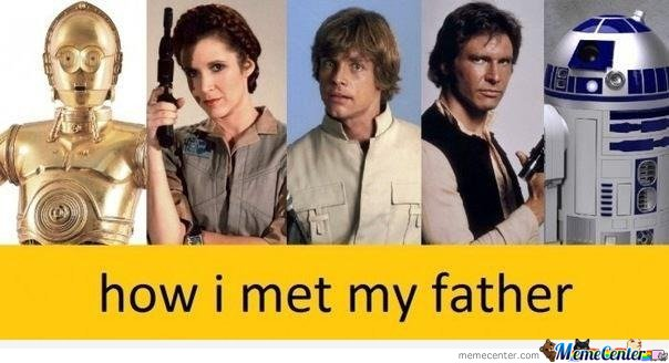 How I met my father