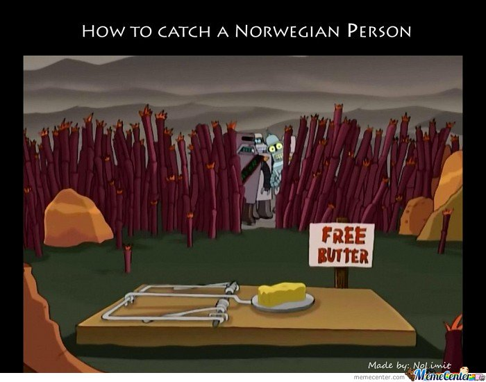How To Catch A Norwegian Person?