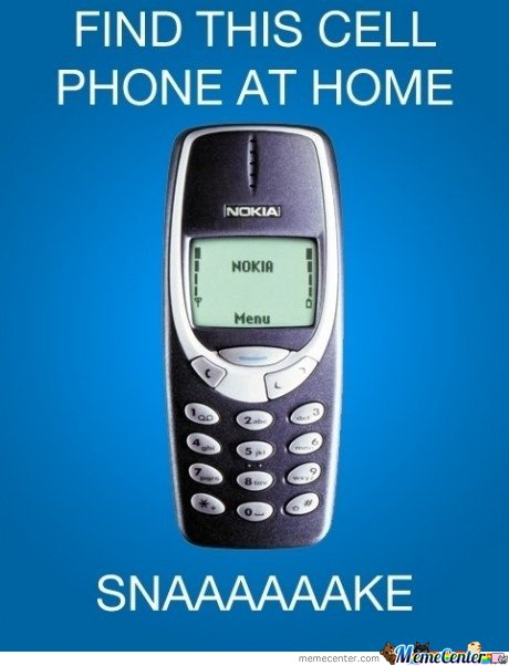 How many of you have owned a Nokia 3310?