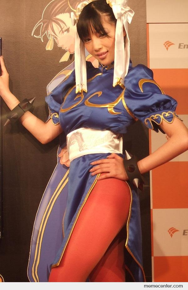 I Think She Really Looks Like Chun Li By Ben