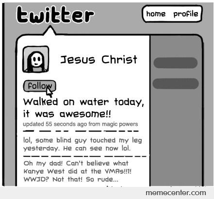 if jesus walked the world today