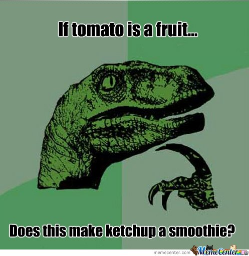 If tomato is a fruit...