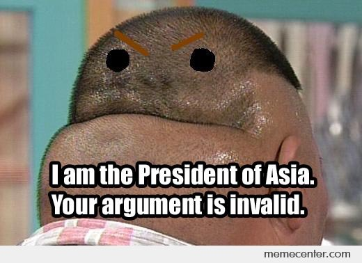 I'm The President of Asia