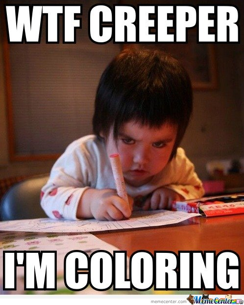 I'm coloring