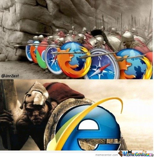 Internet explorer 300 mash up
