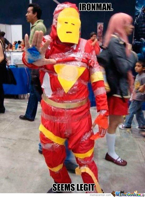 Ironman seems legit