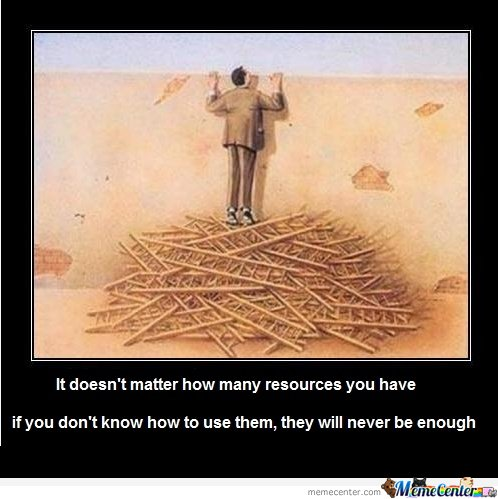 It doesn't matter how many resources