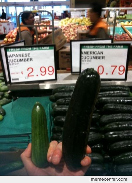 Japanese Vs American Cucumber