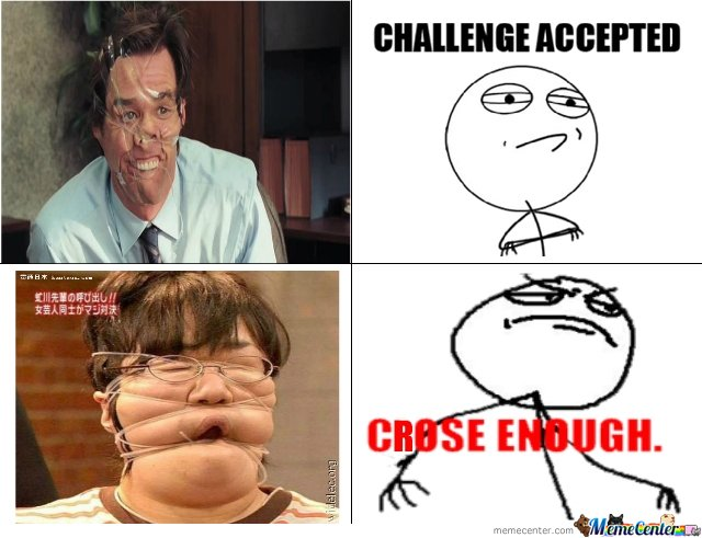 Jim Carey Close enough