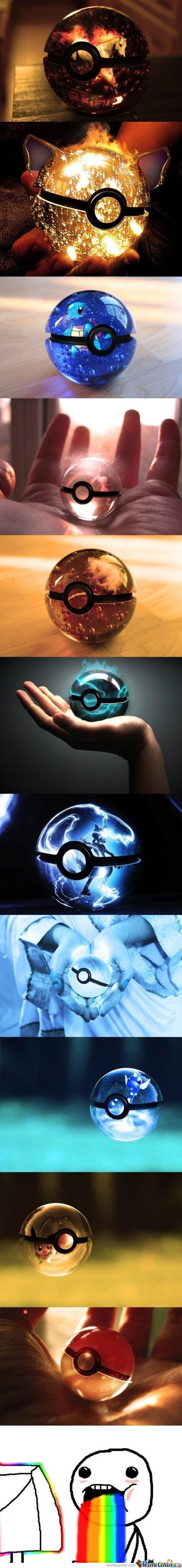Just Pokeballs