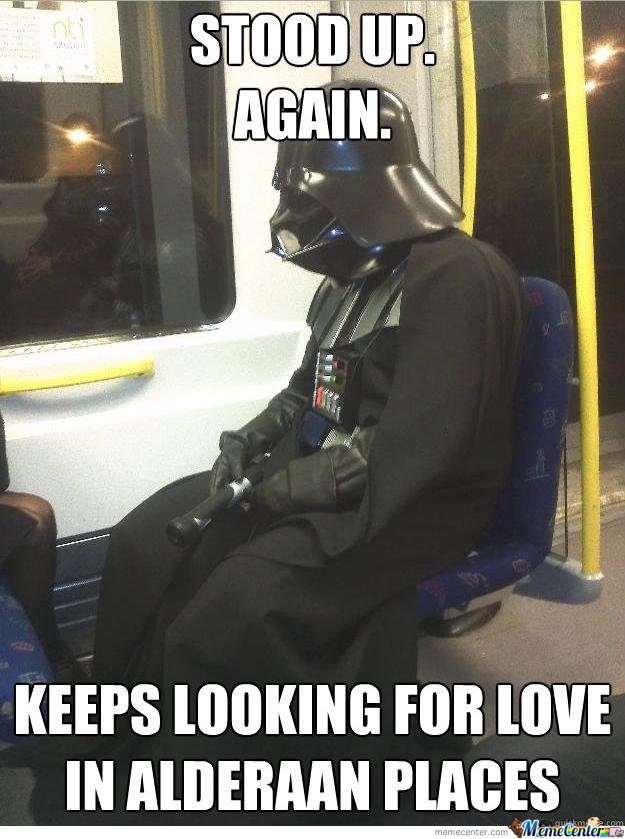 Keeps Looking For Love In Alderaan Places