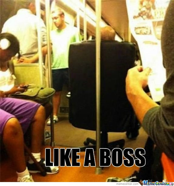 Like a Boss in Subway