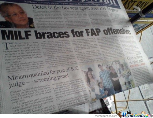 Milf Braces For Fap Offensive