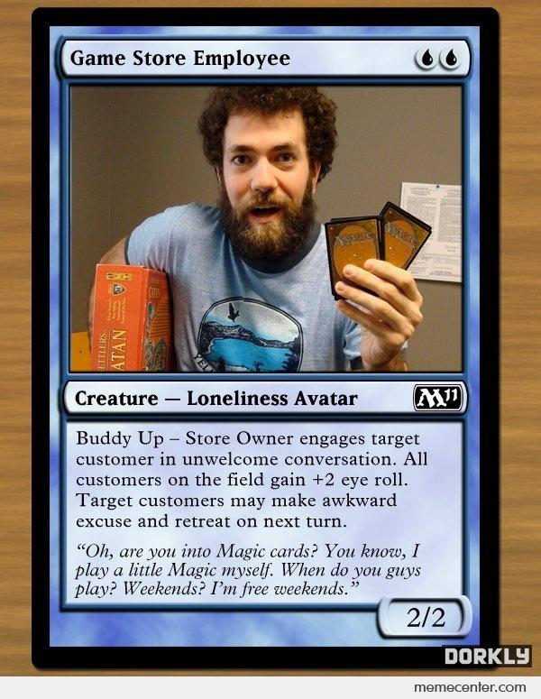 Image result for magic meme cards