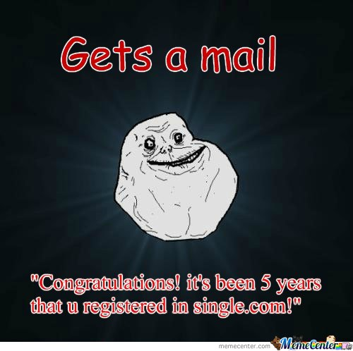 Mail - forever alone