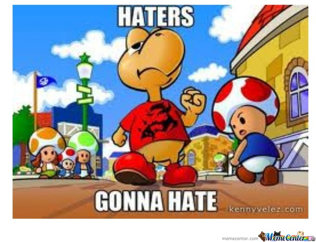 Mario Haters Gonna Hate