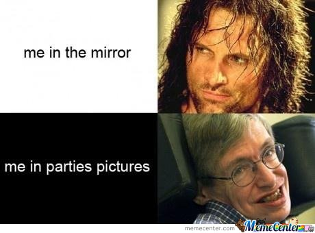 Me In The Mirror , Me In The Parties Picture