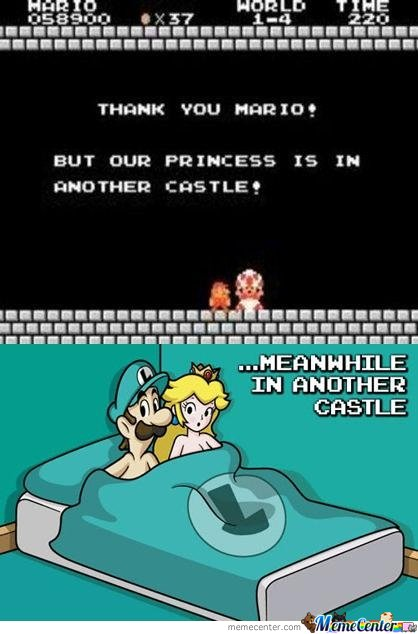 Meanwhile In Another Castle