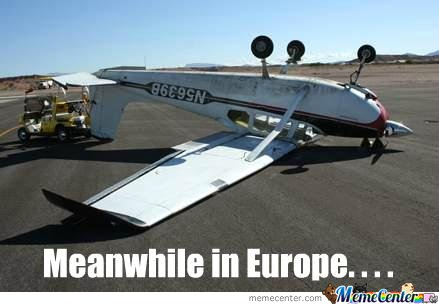 Meanwhile in Europe....