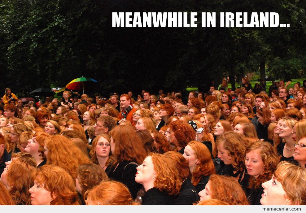 Meanwhile in Ireland
