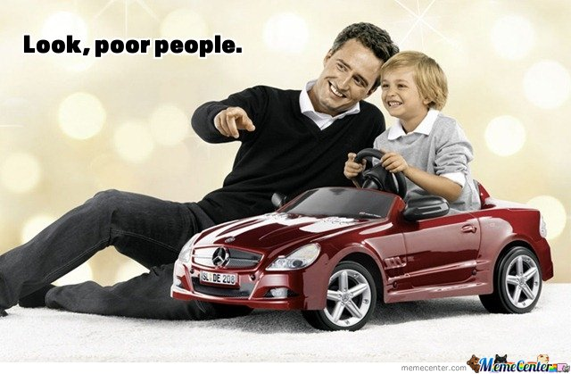 Mercedes - Look Poor People
