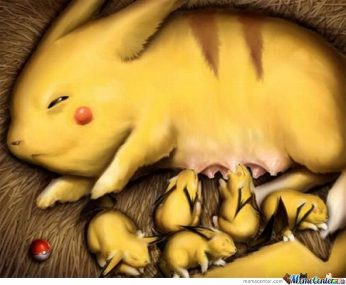 Mother Pikachu