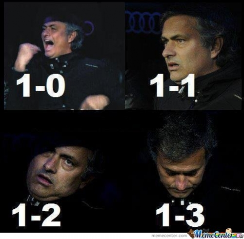 Mourinho Is Sad